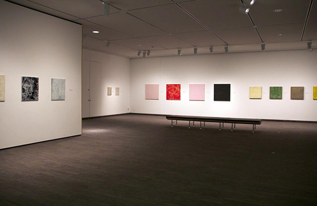 Installation View of A Lexicon of Looking