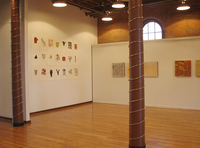 Installation View, Technature, sizes and materials variable