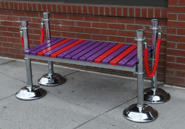 Silver Screen Bench