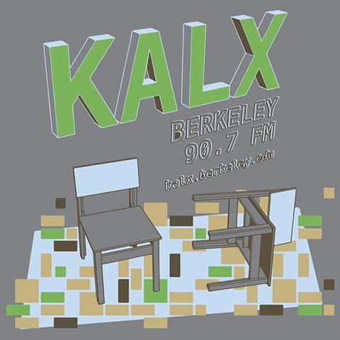 KALX T-shirt design