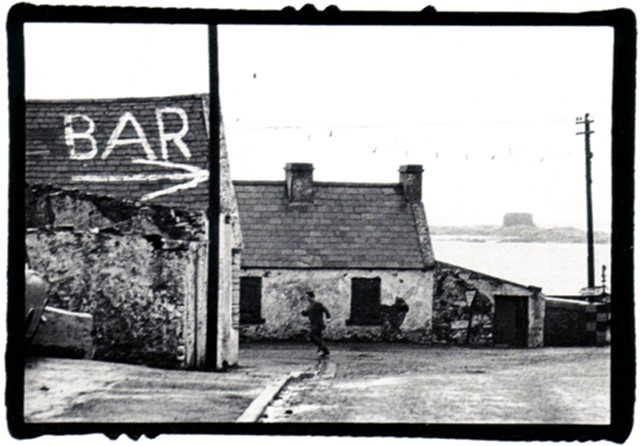 LATE FOR SUPPER  IRELAND  gelatin silver print photograph