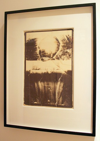 "BJARNE  photo collage  31.5"" x 24.5"" framed"