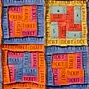 FOURTH TICKET QUILT  sold