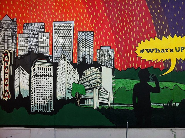 University Place mural