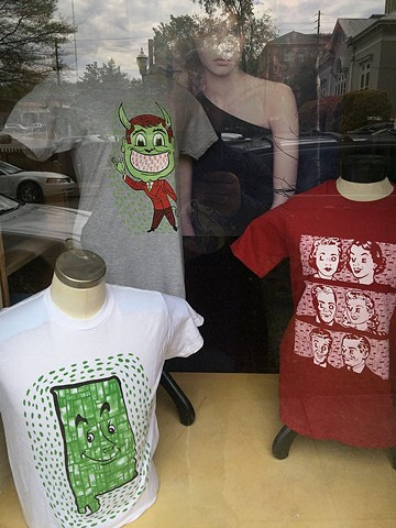 shirts for sale at Orbit salon