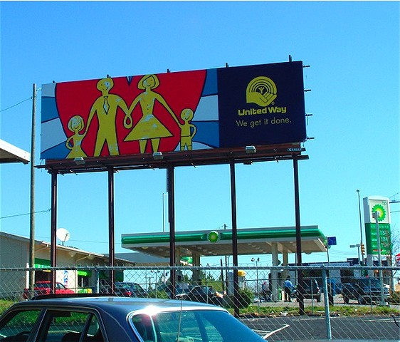 Happy Family billboard