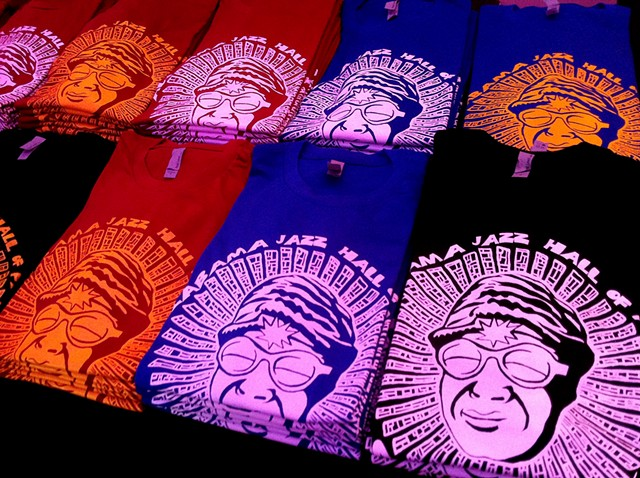 Sun Ra T-shirts for the Carver Theater