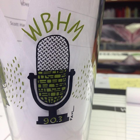 WBHM publc radio Spring fund raiser design