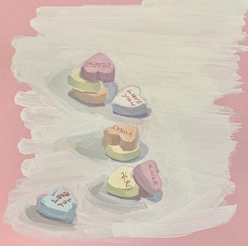 Conversation Hearts #3