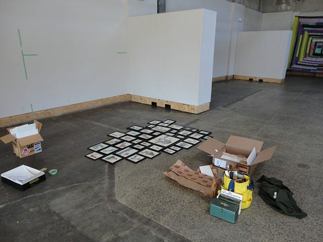 Dark Cloud, installation in progress