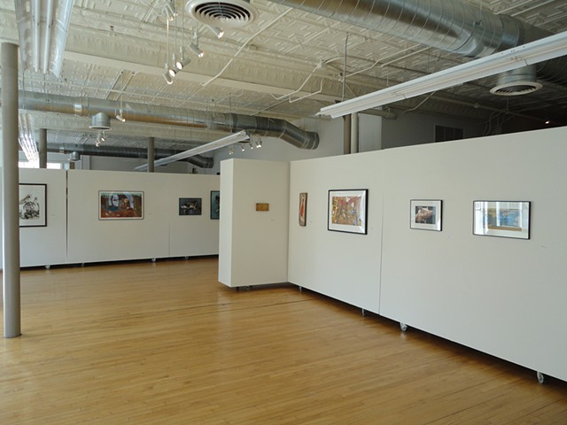 Kinship: An Art Exhibition Of and For Animals Like Us, gallery view