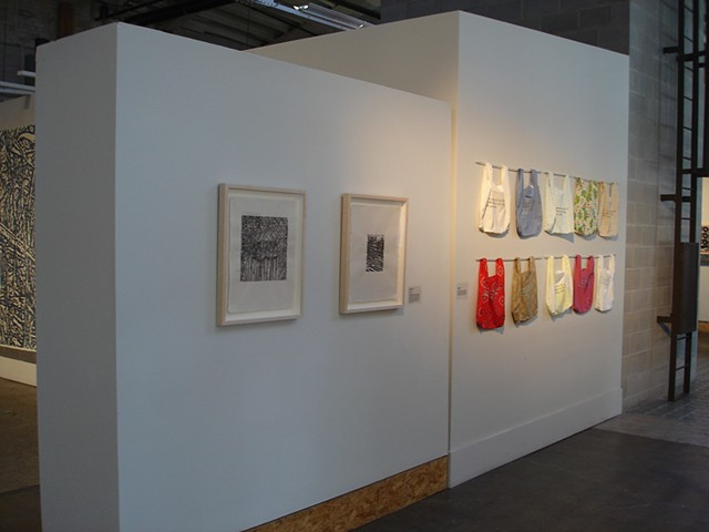 (S)Edition: Prints as Activism, gallery view (Lora Fosberg, Abby Sadaukas)