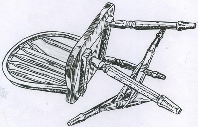 Broken chair (study)