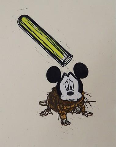 Laboratory Mickey