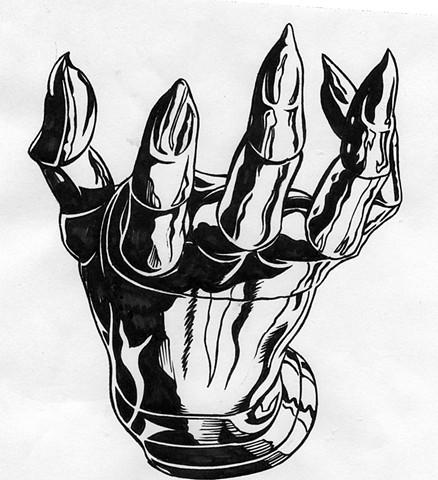 Claw hand (study)