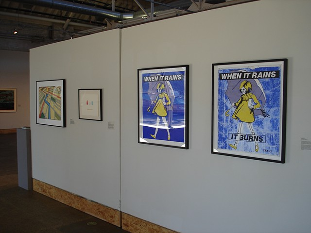 (S)Edition: Prints as Activism, gallery view (Stephanie Standish, Daniel Jasper)