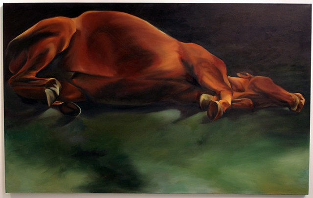 Elizabeth Kennedy, participating artist, Kinship: An Art Exhibition Of and For Animals Like Us