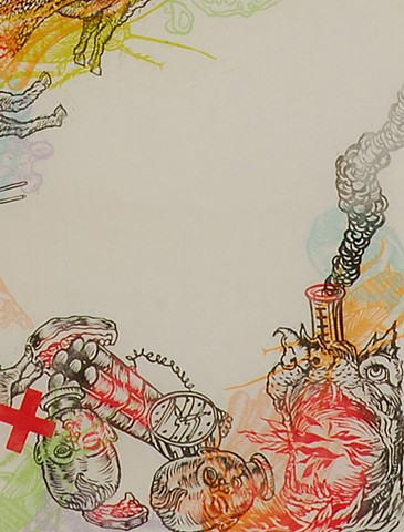 Apocalyptic Apparition 4 (detail)
