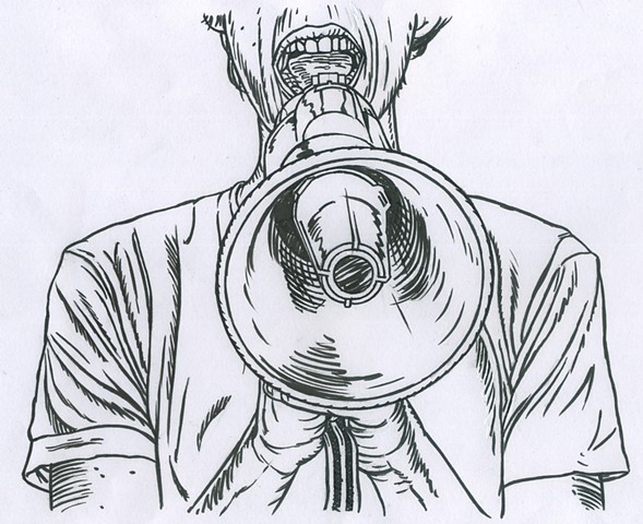 Megaphone (study)