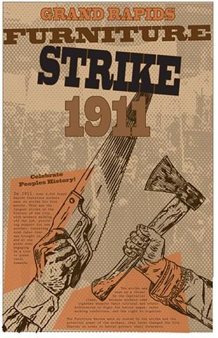 Furniture Workers Strike 1911