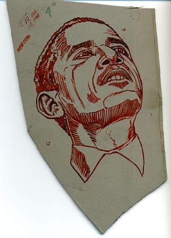 Abandoned block (Obama upward vision)