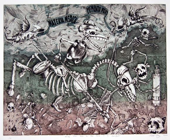 Patrick Vincent, participating artist, (S)Edition: Prints as Activism