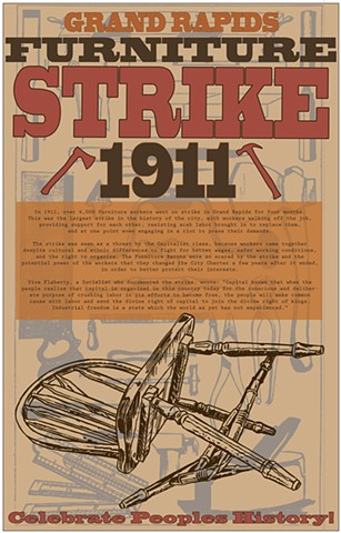 Grand Rapids Furniture Workers Strike 1911