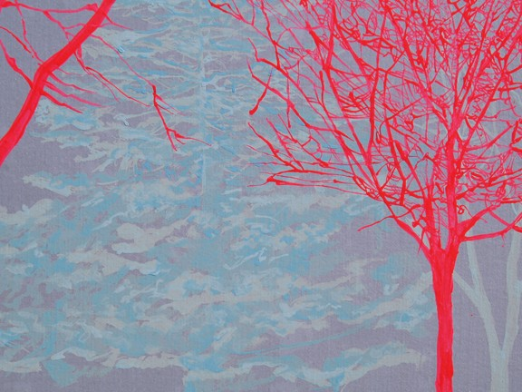 North Ave Tree Study 3 (detail)