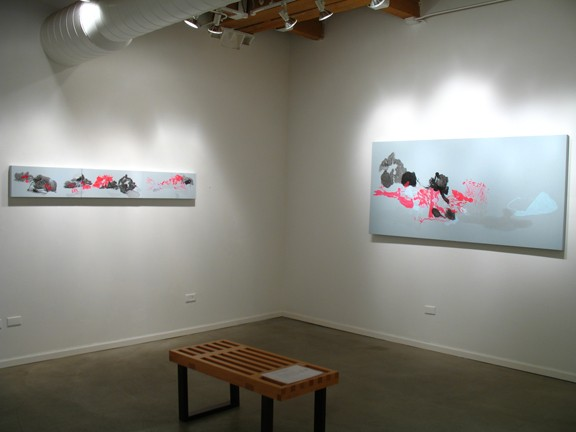 Clearing Installation View 1 (Clearing 4 and Clearing 13)