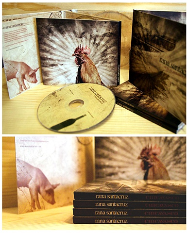 Rana Santacruz Chicavasco Rene Hubbard CD Album