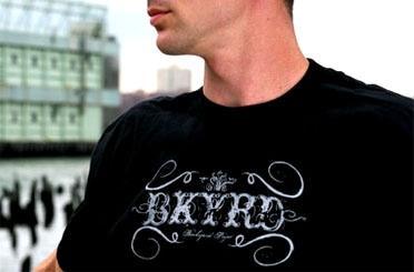 Custom BKYRD apparel design