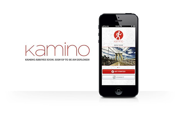 kamino mobile app Kamino Labs Inc. discover urban environments through the eyes of the locals that make those environments what they are.
