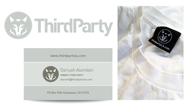 Third Party Los Angeles, California,  LA-based clothing line, Tony Fortem TFVC Design, Printing, Tshirts, t-shirt
