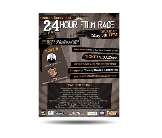 24 Hour Film Race • Boston