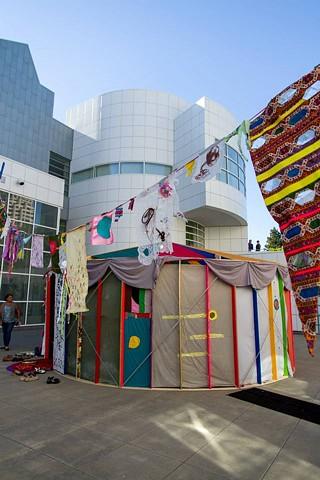 Yurt Installation View