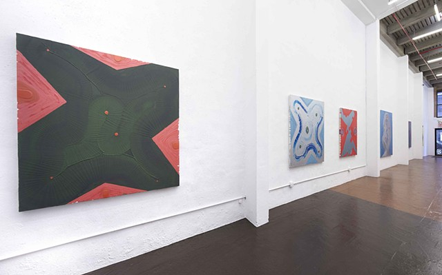 Installation View - Mojave Terraforms, Harlem, NYC