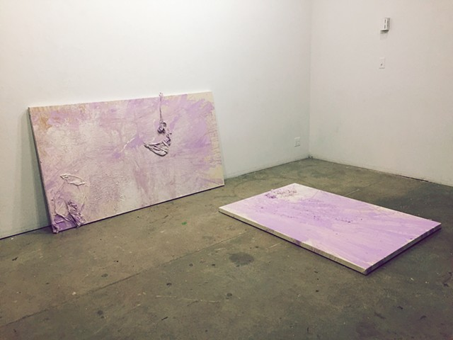 Lavender Mystical,  Installation View, UNC Chapel Hill