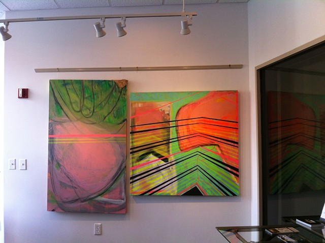 What is This Place, Installation View WVTF and Radio IQ Gallery Charlottesville, VA October 2014-November 2014