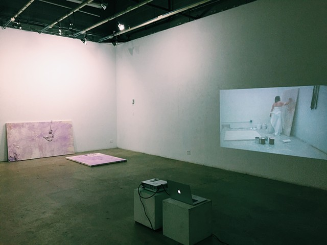 Lavender Mystical, 2016 Installation View