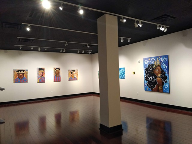 Dynamite!: 4 Houston Emerging Artists, Leslie Diaz, Craig theArtist, Lenard Brown, and Kenneth Pierson.   HCC West Loop Art Gallery, February-April