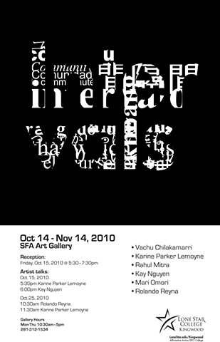 Intervals Exhibition