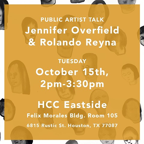 "Rolando Reyna & Jennifer Overfield,""With Both Hands"", Public Artist Talk"