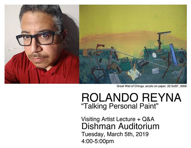 "Rolando Reyna, ""Talking Personal Paint"""