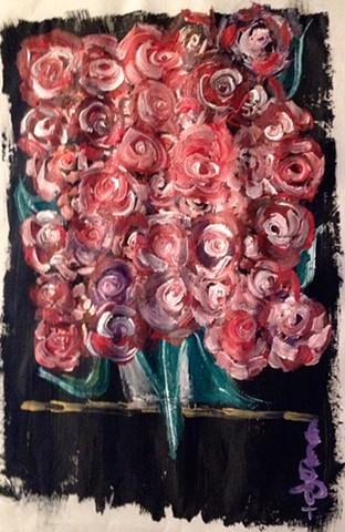 """Summer Roses, Castle Ellen House, County Galway"