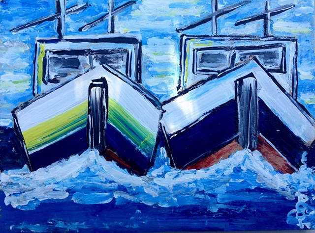 Lobsterboats, Penobscot Bay