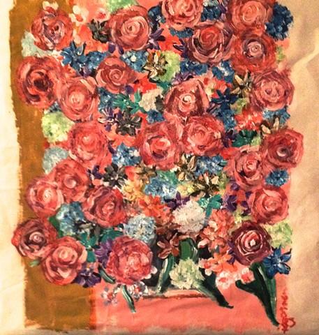 """Mrs. Delaney's Roses - 18th Century Irish Botanicals"""