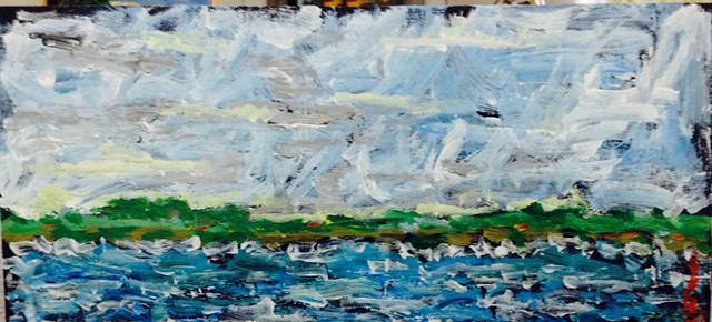 Study for Lake Isle of Innisfree