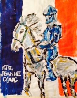 STE. JEANNE D'ARC, PATRONESS OF FRANCE