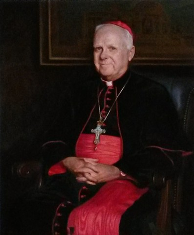 His Eminence Cardinal Edwin F. O'Brien  Grand Master of the Equestrian Order of the Knights of the Holy Sepulchre in Jerusalem