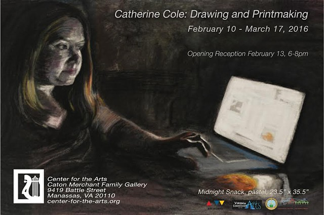 Catherine Cole: Drawing and Printmaking